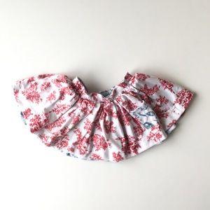 Right Bank Babies 12 mo. reversible circle skirt.